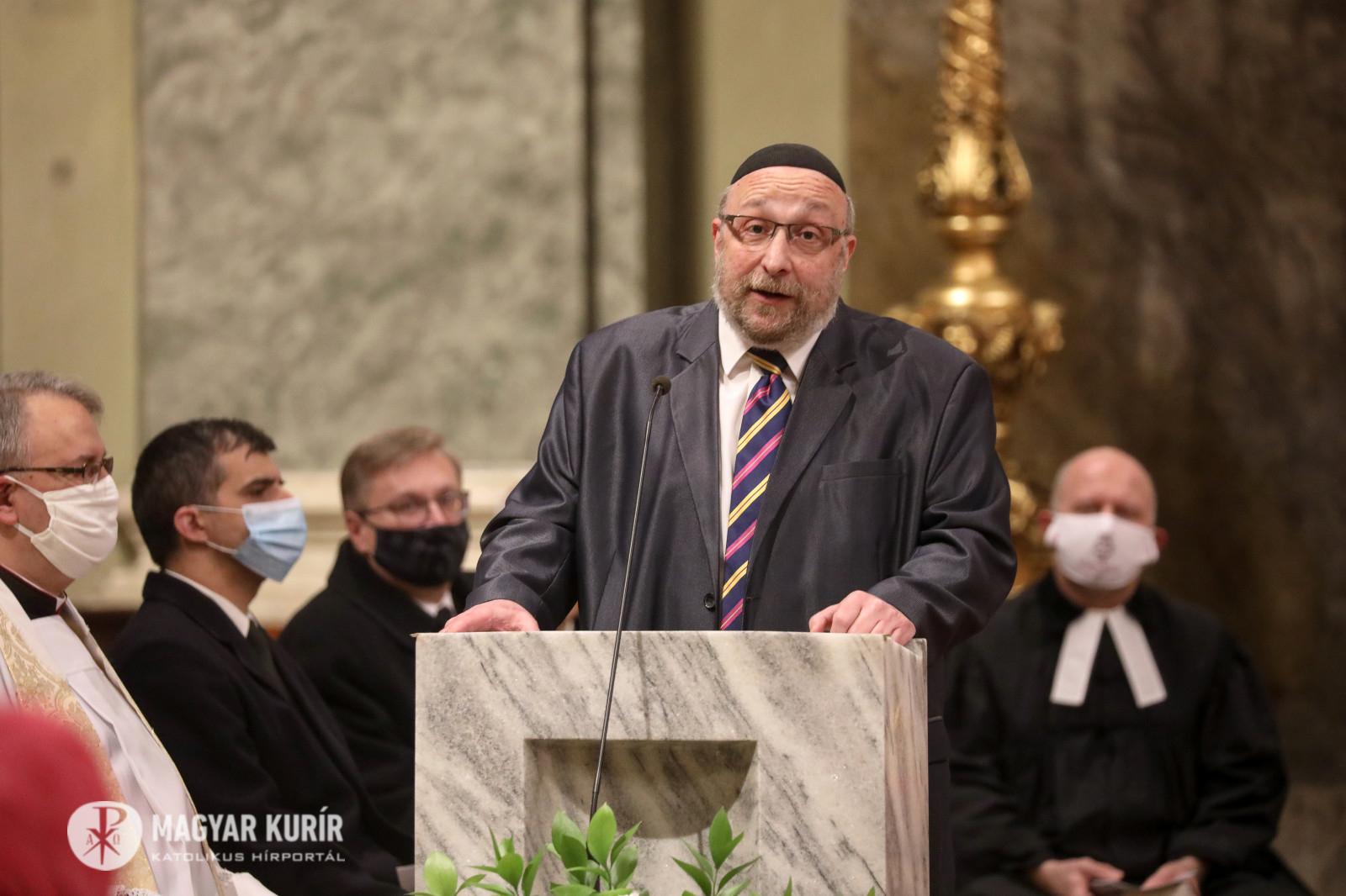 Isten történelmi hivatást bízott ránk – Ilyen volt a keresztény–zsidó imaóra Budapesten