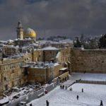 Jeruzsálemben leesett az első idei hó (Videóval)