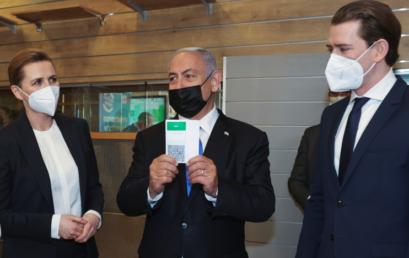Izrael közös oltóanyag fejlesztésről tárgyalt Ausztriával és Dániával