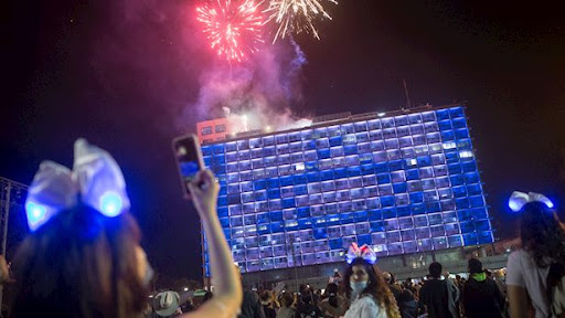 Úgy ünnepelték az ország megalakulásának évfordulóját Izraelben, mint a járvány előtt