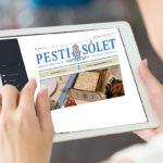 Olvassák el a Pesti Sólet legfrissebb számát online!