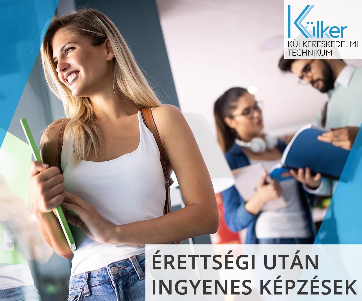 Érettségi után ingyenes szakképzések, nyelvtanulás és kollégium a BZSH Külker Technikumában