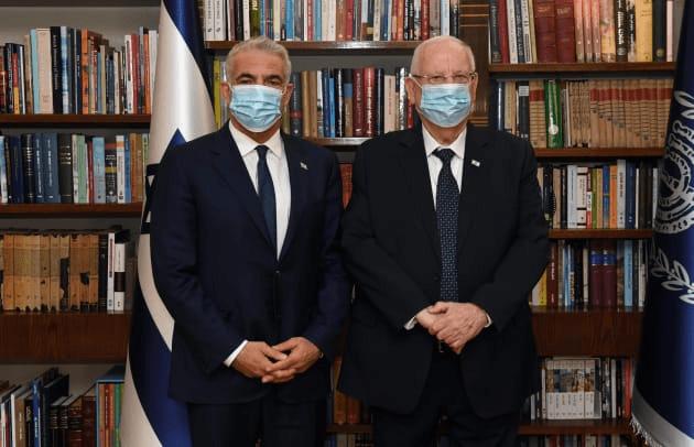 Jáir Lapidot kérte fel kormányalakításra az izraeli elnök