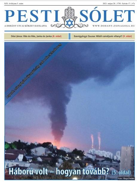 Megjelent a Dohány körzet havilapjának legfrissebb száma