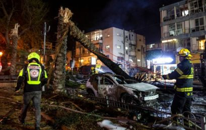 Rakétaesőt zúdított Tel-Avivra a Hamász