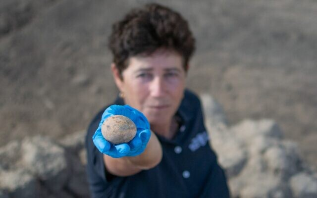 Ezeréves tojást találtak Izraelben