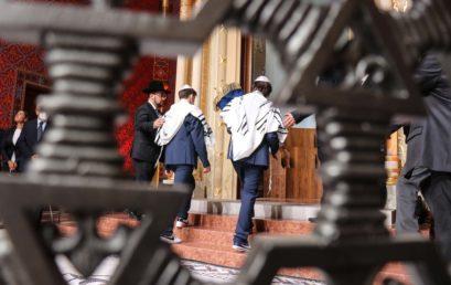 Átadták a felújított Rumbach Sebestyén utcai zsinagógát