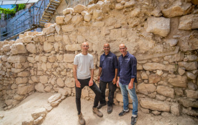 Az első Szentély falának hiányzó szakaszát tárták fel Jeruzsálemben