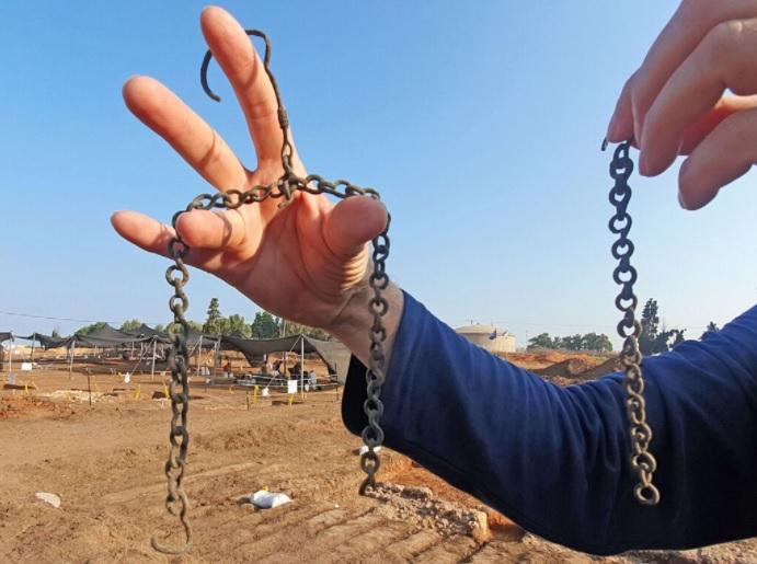 Bizánci kori 1500 éves birtok maradványaira bukkantak Tel-Aviv közelében