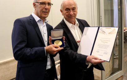 Magyar Zsidókért Díjat kapott Winkler Miksa